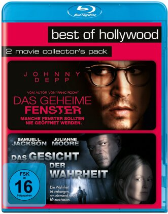 Das geheime Fenster / Das Gesicht der Wahrheit (Best of Hollywood, 2 Movie Collector's Pack)