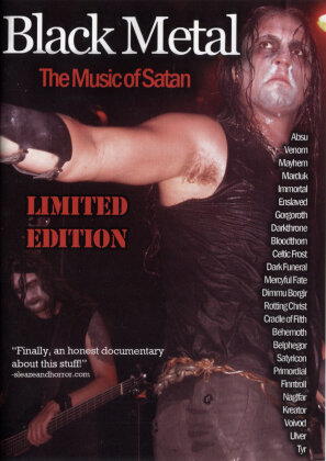 Various Artists - Black Metal: The Music of Satan (Edizione Limitata)