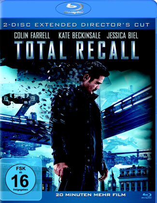 Total Recall (2012) (Director's Cut, Kinoversion, 2 Blu-rays)
