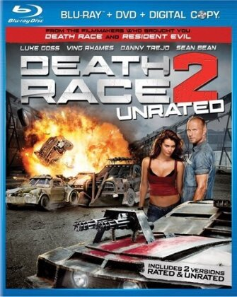 Death Race 2 (2010) (Unrated, Blu-ray + DVD)