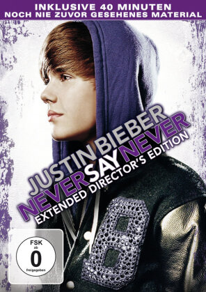 Never say never (Director's Cut, Extended Edition) - Justin Bieber
