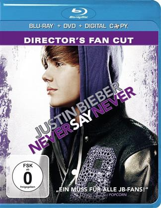 Never say never (Director's Fan Cut, Blu-ray + DVD) - Justin Bieber