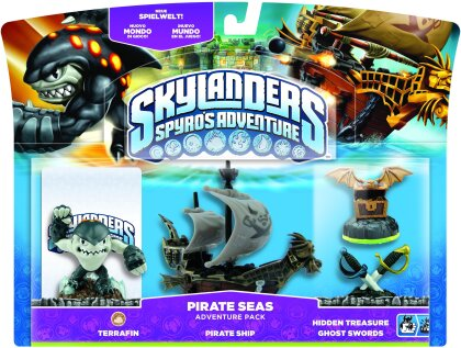 Skylanders Pirate Adventure Pack W 3.0