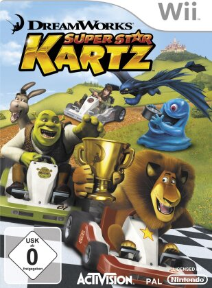 Dreamworks Super Star Kartz Bundle