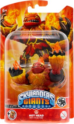 Hot Head Giants Character for Skylanders Giants