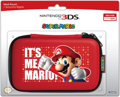 Super Mario Hard Pouch - red