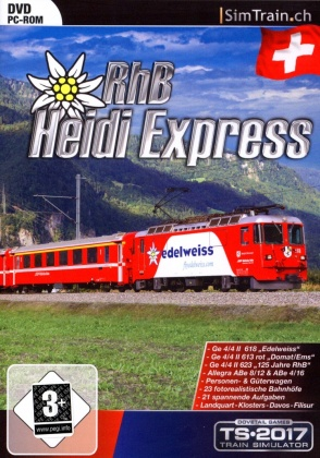 Heidi-Express RailWorks für TS2012/13 (Add-On)