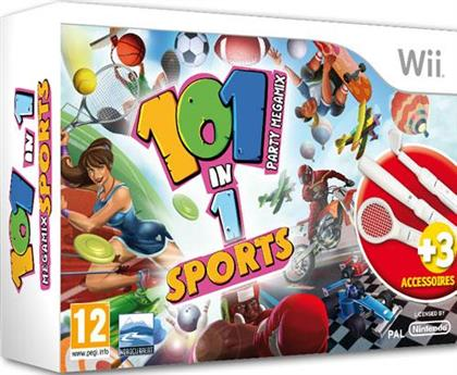 101 in 1 Sports Wii Bundle - Party Megamix