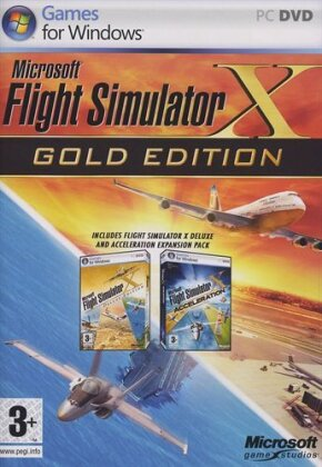 Flight Simulator X (Gold Édition)