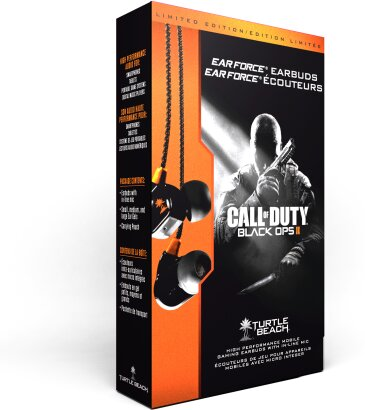 Ear Force Earbuds - CoD Black Ops 2 [PSVita/3DS/iOS/Mobile]