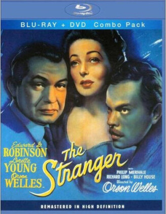 The Stranger (1946) (Remastered, Blu-ray + DVD)