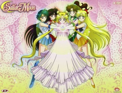 Sailor Moon - Stagione 1 - Box 3 (Remastered, 4 DVDs)