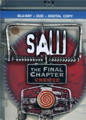 Saw 7 - The Final Chapter (2010) (Unrated, Blu-ray + DVD)