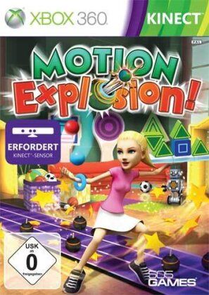 Kinect Motion Explosion