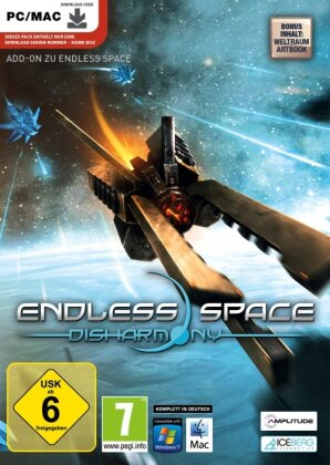 Endless Space - Disharmony Add-On [Code in Box]