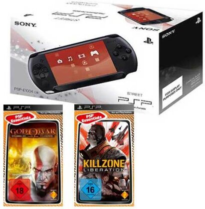 PSP Konsole E1004 + God of War Chains.. Killzone Liberations
