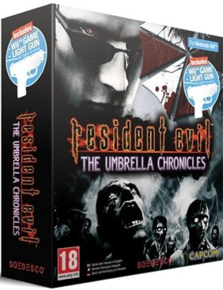 Resident Evil Umbrella Chronicles + Pistole
