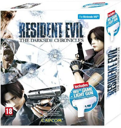 Resident Evil Darkside Chronicles + Pistole