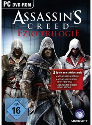 Assassins Creed Ezio Trilogie