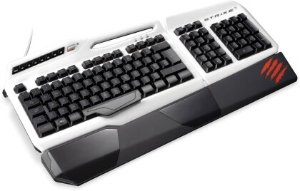 S.T.R.I.K.E. 3 Professional Gaming Keyboard - white [German-Layout]