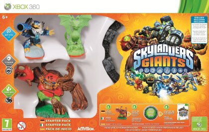 Skylanders Giants Exclusive Starter - Pack Glow In The Dark