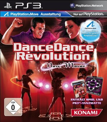 Dance Dance Revolution - New Moves + Tanzmatte