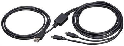 Xbox-One Usb Y-Ladekabel 3m Black Für. 2 Pad