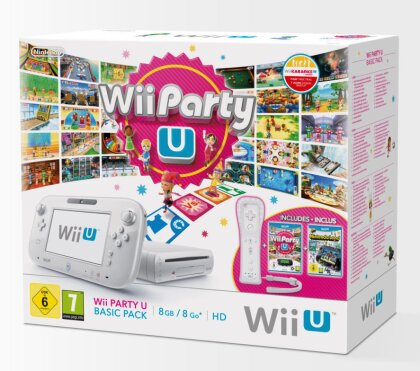 Nintendo Wii U Console Basic + Party U & Nintendo Land