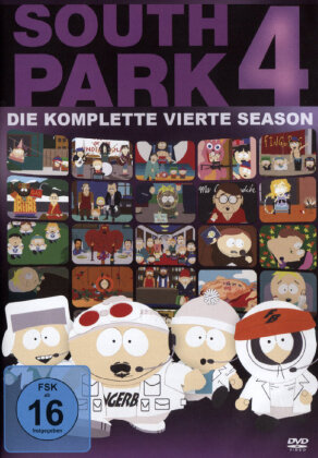 South Park - Staffel 4 (Repack 3 DVDs)