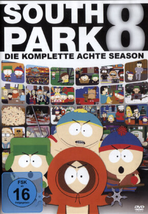 South Park - Staffel 8 (Repack 3 DVDs)