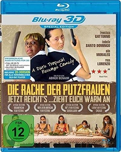Die Rache der Putzfrauen 3D (2009) - (Blu-ray 3D (+2D))