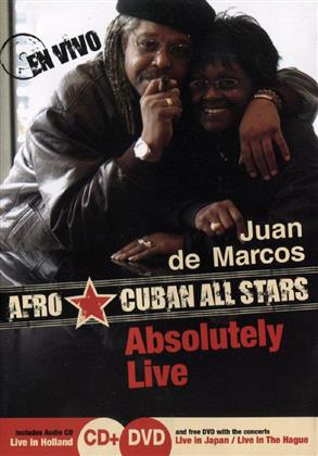 Gonzales Juan De Marco & Afro Cuban All Stars - Absolutely Live (DVD + CD)