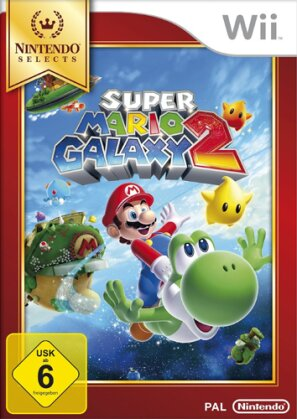 Super Mario Galaxy 2 Selects