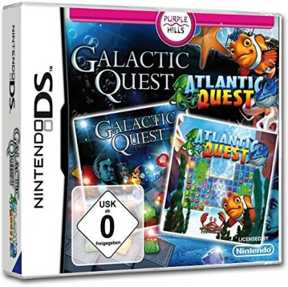 2 in 1 - Atlantic Quest + Galactic Quest