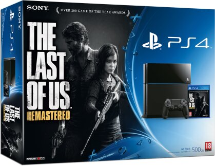 Sony Playstation 4 Konsole 500GB + The Last of Us