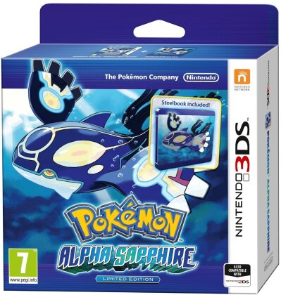 Pokemon Alpha Saphir (Limited Steel Book)