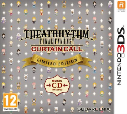 Final Fantasy Theatrhytm Curtain Call (Limitede Edition) (GB-Version)