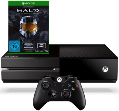 XBOX-One 500GB + Halo Masterchief