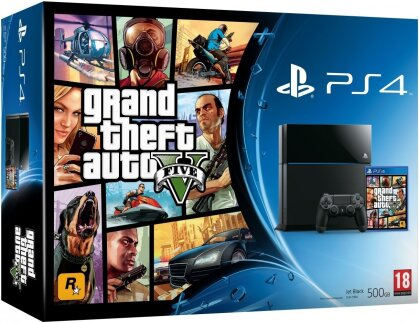 Sony Playstation 4 500GB + GTA V
