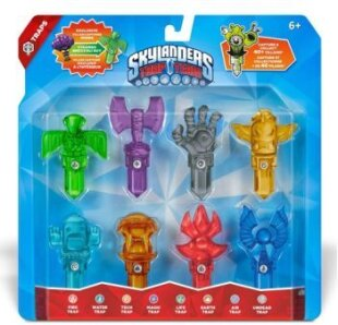 Skylanders Trap Team: 8 Elements Trap Pack incl. Steamed Broccoli Guy