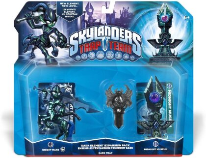Skylanders Trap Team Elements DARK (Knight Mare,Midnight Museum,SpiderDark)