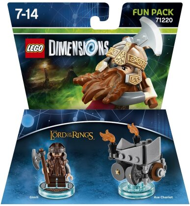 LEGO Dimensions Fun Pack Lord of the Rings: Gimli