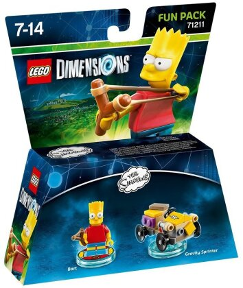 LEGO Dimensions Fun Pack The Simspsons Bart Simpson
