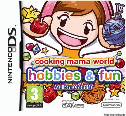 Cooking Mama World Hobbies & Fun: Ateliers Créatifs