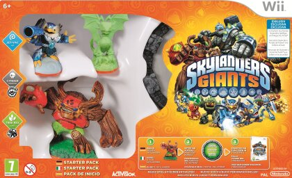 Skylanders Giants Exclusive Starter Pack Glow In The Dark