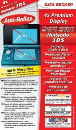 Nintendo 3DS Antireflex Displayschutz