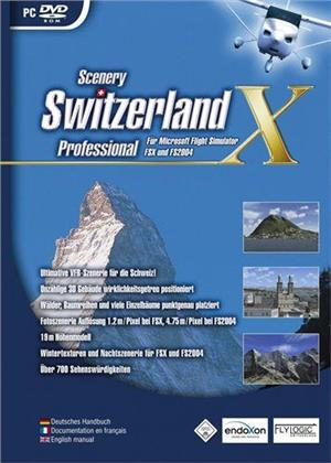 Switzerland Professional X für FS2004/FSX [Add-On]
