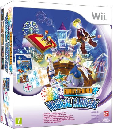 Family Trainer Magical Carnival incl. Dance mat (not for Wii light)
