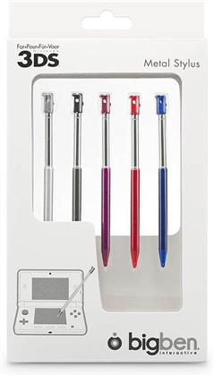 BB Metal Stylus Set (5 pcs.) for DSL/Dsi/DSiXL/3DS