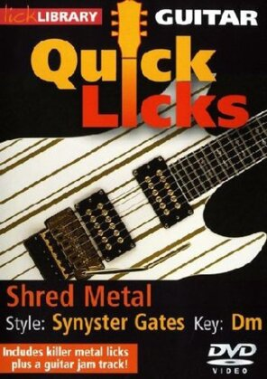 Guitar Quick Licks - Shred Metal / Synyster Gates
